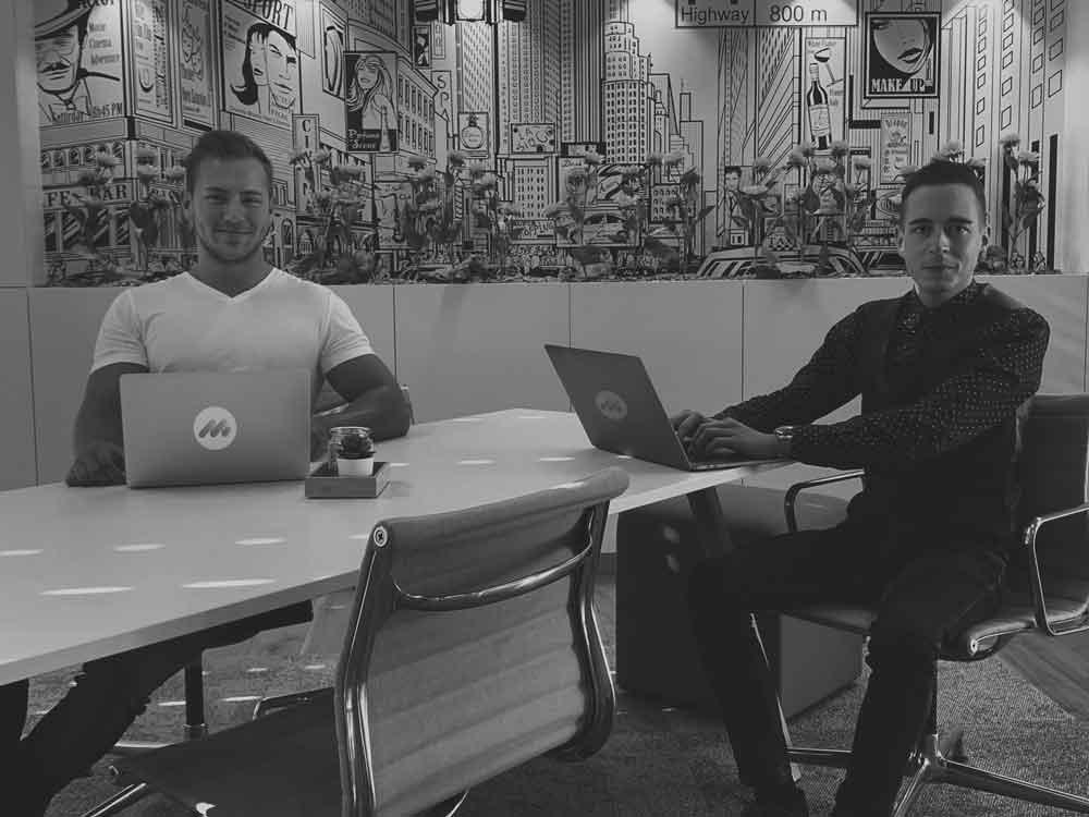 Mario Fracasso und Matthias Graf Teambild